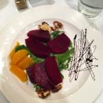 beet salad... either ala carte or upgrade with dinner