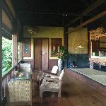 Bali Eco Stay Rice Water Bungalows Foto