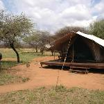 Accommodation at Selous