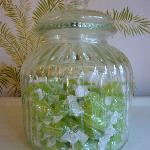 Sweetie jar to dip into.