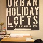 Photo de Urban Holiday Lofts