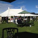 main marquee for wedding breakfast