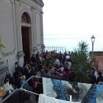 Wedding from my balcony (room 3 / floor 1)