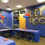 Blue Party Room