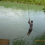 Rope Swing on deck
