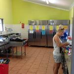 a bit busy in kitchen at times but nice, clean and spacy