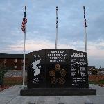 Veteran's Memorial in front of Beartooth Inn