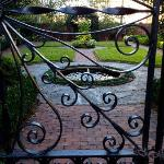 "one of the many ""gates and gardens"""