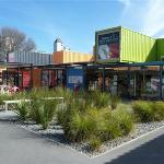 'Container Town' Christchurch
