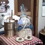 Gift baskets are available upon request.