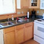  Kitchen was clean and had adequate pots, pans, plates, flatware, etc.
