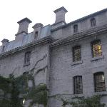  The exterior of the jail