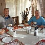 Breakfast at Winelands Lodge