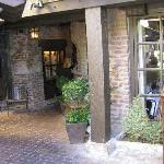 photo of entry to nice restaurant in neighboring community Mill Valley