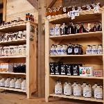 Hidden Springs Maple farm store product displays