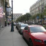 Outside the hotel - towards Nevsky Prospect