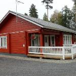 Kuikanranta cottage at lake