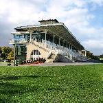 Grandstand at Chantilly Hippodrome