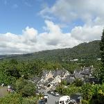 View of Conwy valley from room