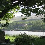 Dunvegan Castle through the trees