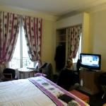 Room 301 - small, comparable to NYC hotels and just as old.