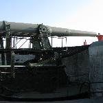 elevated 15 inch gun