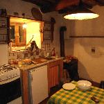  La cucina! Rustica, e fa taanto casa! :)