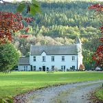 Glangwili Mansion in the Autumn