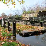 One of the last working locks on the I & M Canal
