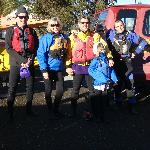 Our group. We were in good hands with Mark, our guide(far right)