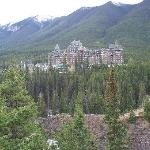  Fairmont Banff Springs Hotel from Surprise Corner