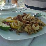 calamari perfectly fried!!!