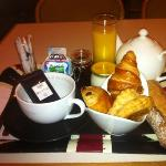  petit dej 8 trs frais et bon