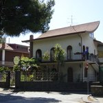  B&amp;B La Giara - Nicolosi - Etna - villa frontale da viale della regione