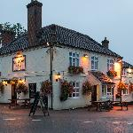 The Onslow Arms at night