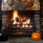 Roaring Fire at the Onslow Arms