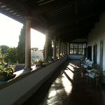 the loggia, great place to watch the sun set