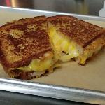 The American Ooze - Orange and White American, Sharp Cheddar, Colby Jack, Swiss and Cheese Wiz