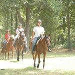 Trail Ride at Pfeiffer Riding Stables