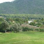  View across golf course to Mountains