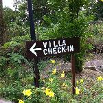  Villa check-in