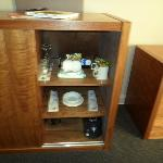 Cupboard with dining Utensils