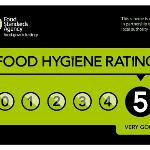 food Rating Award from East Yorkshire Council