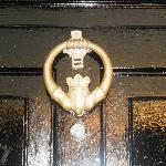  Front door knocker :)