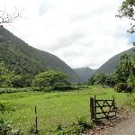 View of valley during ride