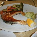  Ocean seafood restaurant Amman-grilled salmon