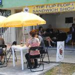 Great day at the Flip Flop Sandwich Shop