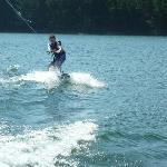 Wakeboard with Matt