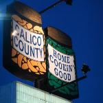  Calico County Sign