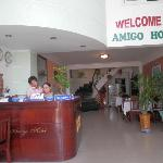  Reception - Amigo Hotel